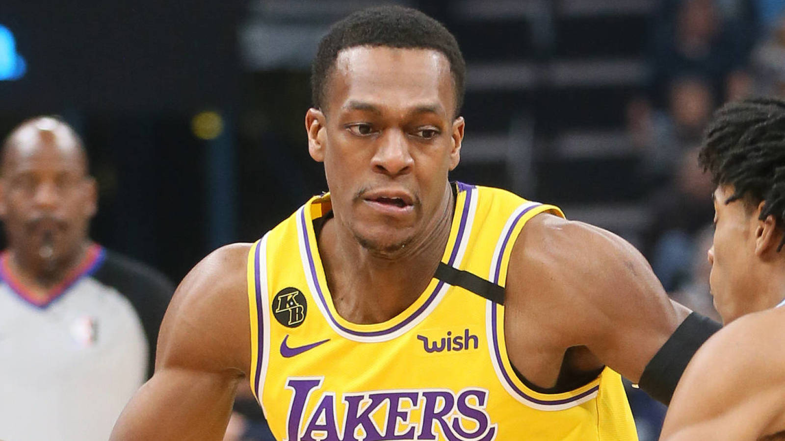 Rajon Rondo not too thrilled about his hotel accommodations in Orlando